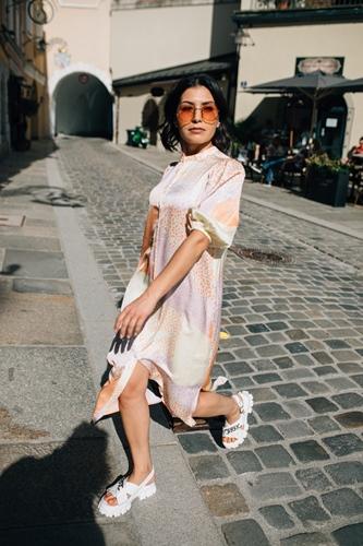 "Kleid ""Delmar Print"" MbyM"