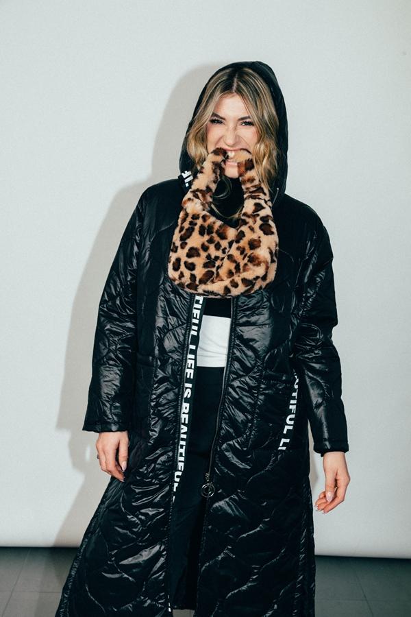 Damen Tasche mit Leopardenprint
